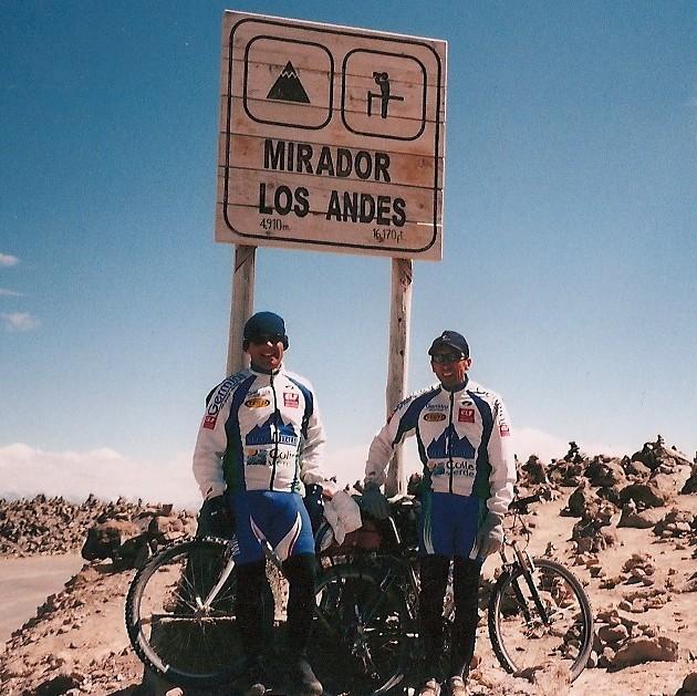 Leonardo e Marco in bici per il Mondo