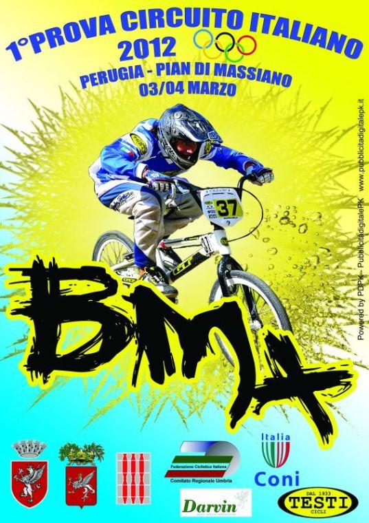 1° prova Circuito Italiano BMX 2012 Perugia
