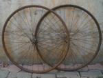 ROAD BIKE WHEELS OF THE YEARS 30 (RIMS IN WOOD)