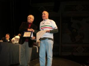 STAGIONE 2007 - Fernando Francescangeli Campione italiano cat. M8 12 gennaio 2008