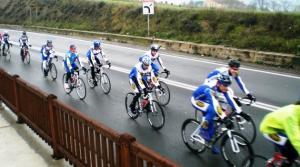 STAGIONE 2008 - Team road in allenamento.