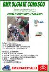 STAGIONE 2011 - 24.09.2011 Finale Circuito Italiano BMX 2011 Olgiate Comasco
