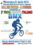 Stagione 2012 : 2°prova Circuito Italiano BMX Vigevano (PV)