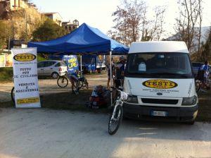 Stagione 2012 : XI Gran Fondo Antica Carsulae GS Testi Cicli Team MTB Perugia 1° Società Classificata