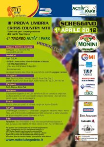 Stagione 2012 : 4° Trofeo MTB Activo Park