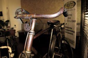 Esposizione collezione bici antiche Testi Cicli