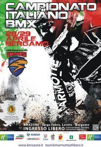 Stagione 2012 : 29° Campionato Italiano BMX   Bergamo
