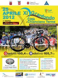 Stagione 2012 : XI Gran Fondo Città di Chianciano Terme