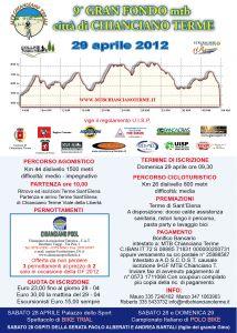 Stagione 2012 : 9° GF MTB Città di Chianciano Terme