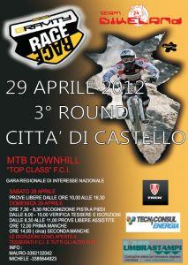 Stagione 2012 : 3° Gravity Race | Città di Castello