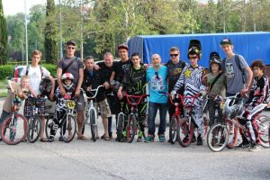 Stagione 2012 : Stage BMX Club Cagnes sur Mer a Perugia