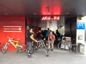 Stagione 2012: In bici nel Minimetrò