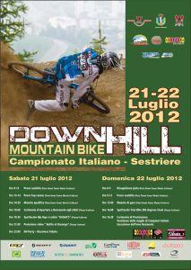 Stagione 2012: Campionato Italiano DH 2012