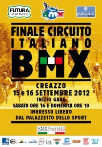 Stagione 2012: Finale Circuito Italiano BMX - Risultati e Classfica generale