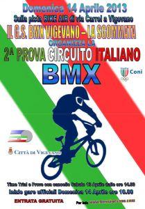 Stagione 2013: 2° Prova Circuito Italiano BMX – Vigevano