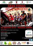 Stagione 2013: 2° Gran Fondo delle Sorgenti - Nocera Umbra