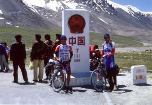 LEONARDO E MARCO KHUNJERAB PASS 4700 Mt