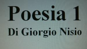 Poesia scritta da Giorgio Nisio a Matteo Testi
