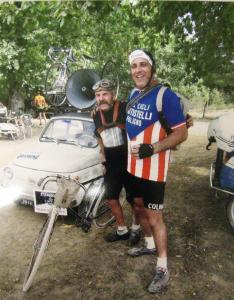 04 ottobre 2009 CLAUDIO GRASSO porta la Testi Cicli all'eroica