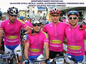 STAGIONE 2010 - La Testi Cicli alla Granfondo Marco Pantani 2010