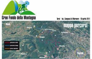 STAGIONE 2011 - 2° prova Umbria Challange MTB 2011 - Marmore ( TR )