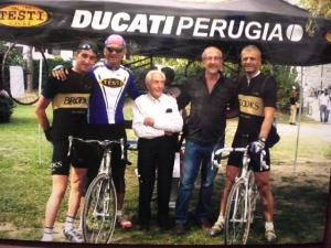 STAGIONE 2006 - EROICA - Testi Luigi insieme a Fabrizio Ravanelli